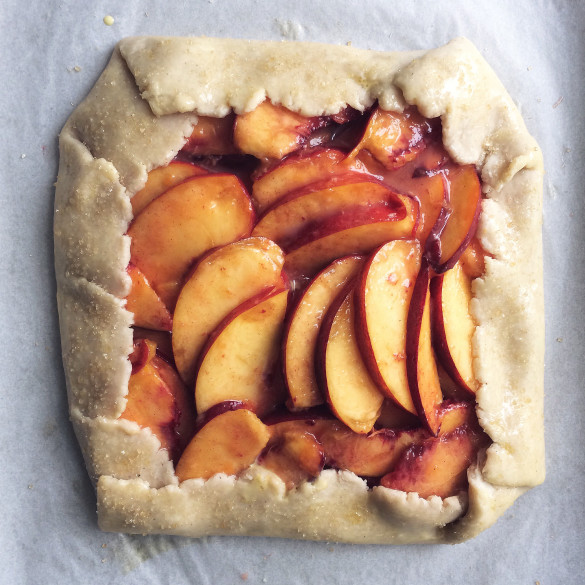 peachandgingergalette